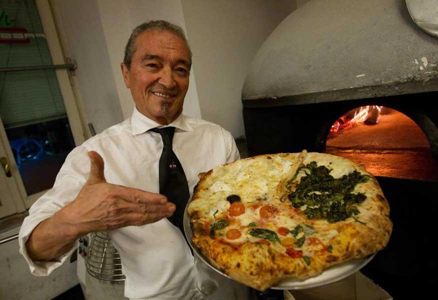 Credenza Per Pizzeria : Incidente per il cavaliere della pizza è ricoverato in ospedale