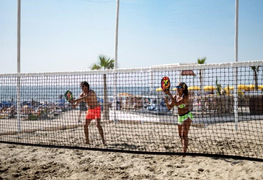 4d998ed1692e7 Beach tennis: lo sport del momento al Capri Beach - Grandenapoli.it